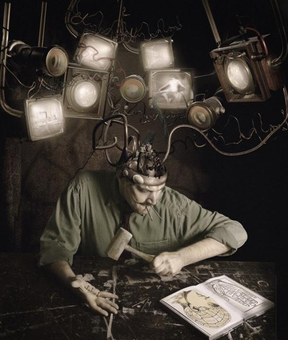 Элементы стимпанка на снимках Джейми Болдриджа