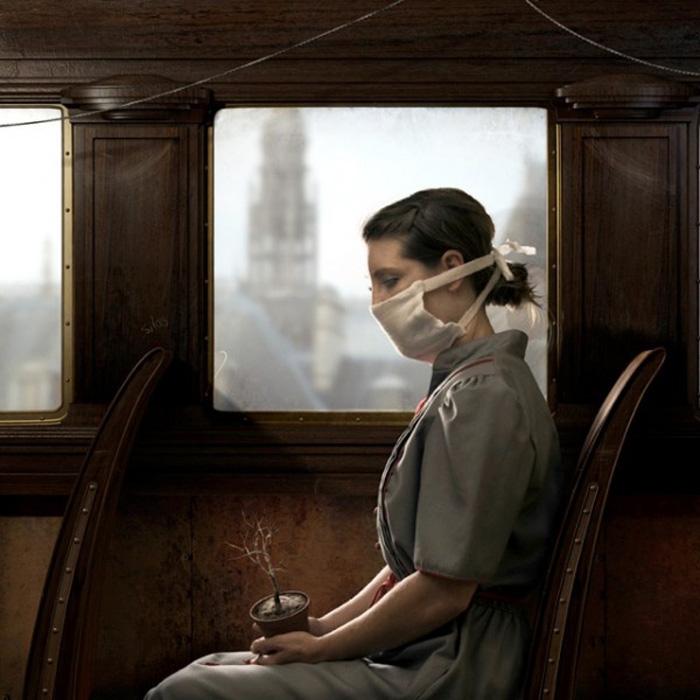 Печальный и прекрасный мир в стиле фэнтези от Jamie Baldridge