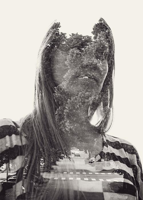 Подруга Кристоффера Реладнера на одной из его работ