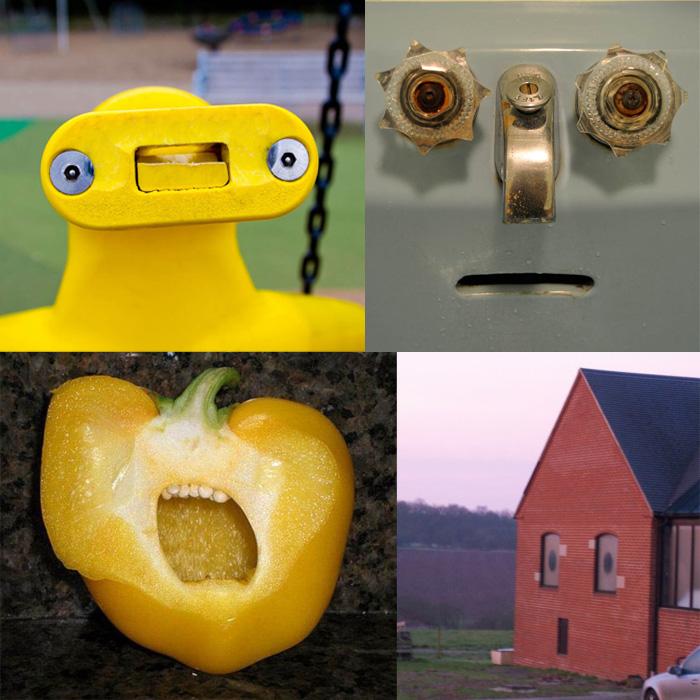 Фотопроект Faces in places или у каждого предмета есть своё лицо