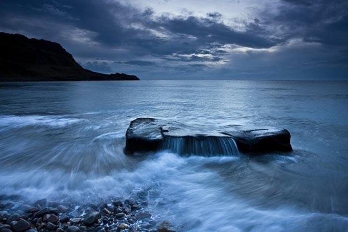 Любимая тематика пейзажной фотографии Глина Дэвиса - океан