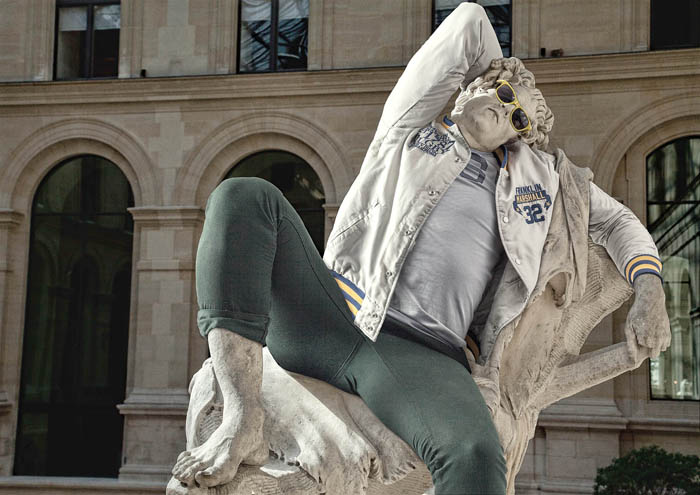 Фото из серии Street stone французского фотографа Leo Caillard