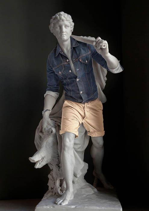Памятники искусства и современные технологии в работах Лео Келларда
