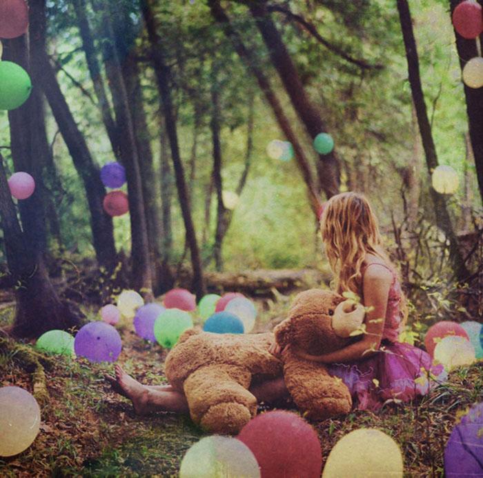 Воспоминания из детства на фотографиях Lissy Elle