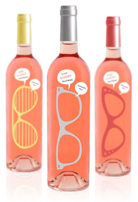 Luksemburk изобрели бутылку, позволяющее увидеть мир в розовых тонах