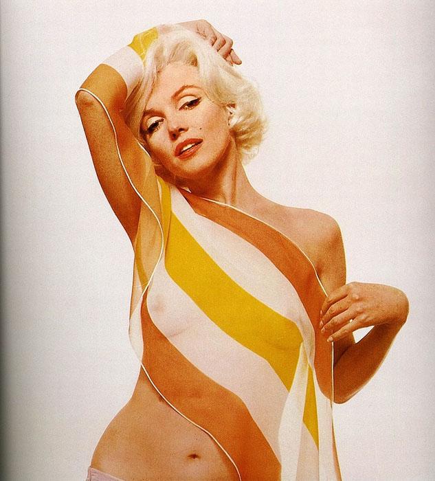 Нежная и сексуальная Marilyn Monroe в своей последней фотосессии