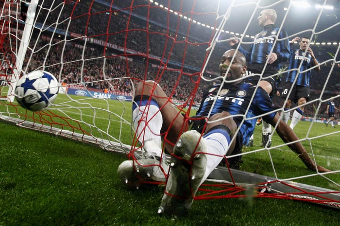 Интер(Милан) - Бавария(Мюнхен) финал лиги чемпионов 2011 года. Фотограф - Michael Dalder
