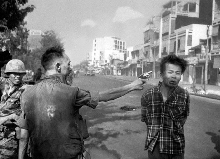 *Убийство заключённого* - фото, которое все поняли неправильно. Автор Эдди Адамс (1968)