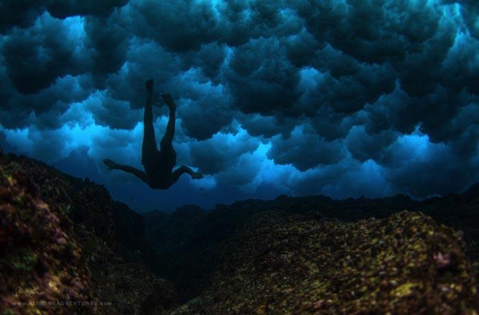 Пасмурный день на Фиджи.Фотограф Сара Ли