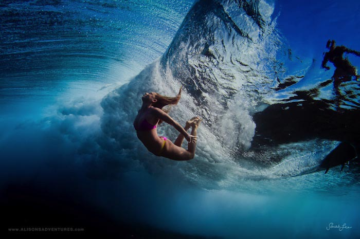 Подводная фотосъёмка Сары Ли