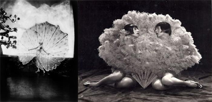 Зигфильд Фоллиес и его девушки на фотографиях в стиле ню