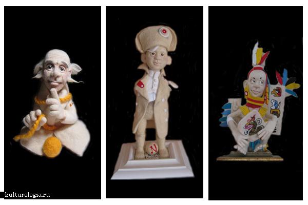 Войлочные куклы Григория Ключника