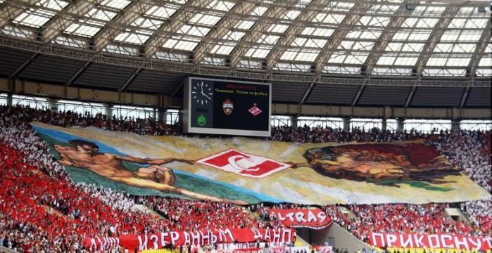 Чеапионат России по футболу. ЦСКА (Москва) - Спартак (Москва). Москва, 2009 год.
