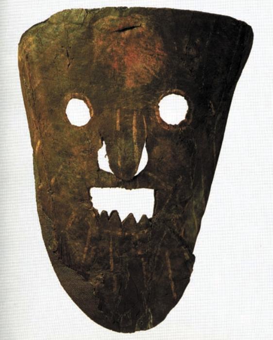 Новгородцы умели и веселиться. Кожаная маска средневекового «юмориста» – скомороха