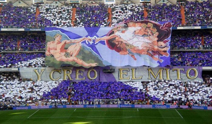 Матч футбольных клубов Реал (Мадрид) - Атлетико (Мадрид). Мадрид, 2006 год.