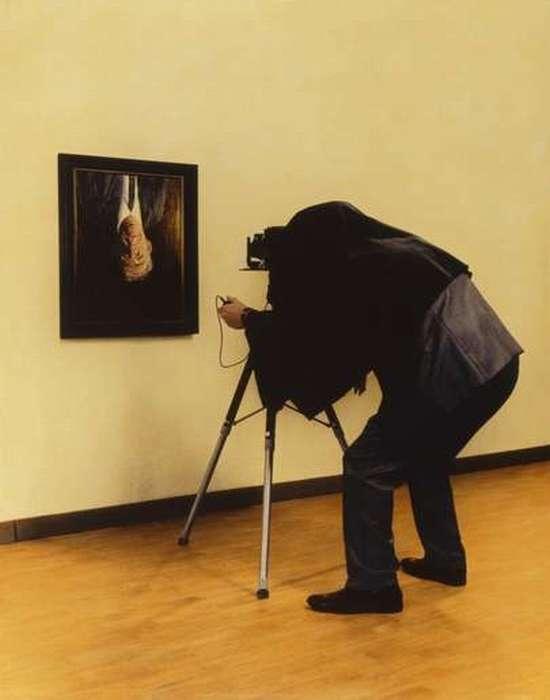 Трагикомический фотохудожник Teun Hocks