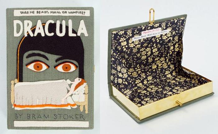 Клатчи-книги французского дизайнера Olympia Le-Tan