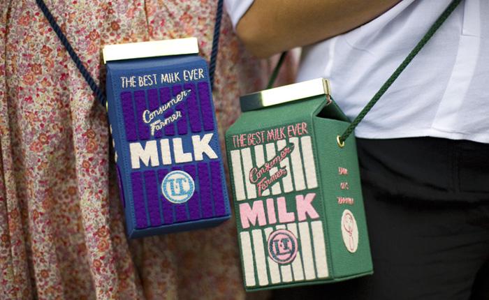 *Молочная* коллекция Olympia Le-Tan
