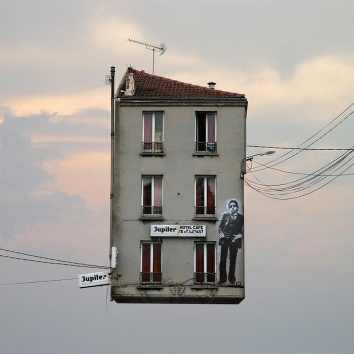 Летающие здания Laurent Chehere