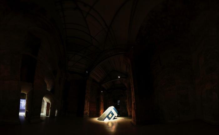 Переезд. Инсталляция в Будапеште