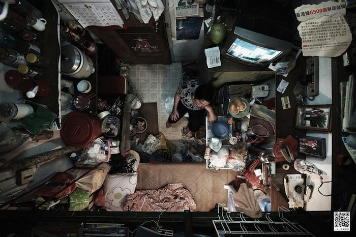 Гонконгская жизнь, вид сверху