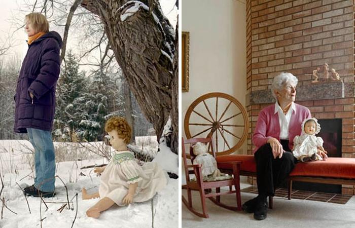 Женщины и куклы: фото Веры Зальцман