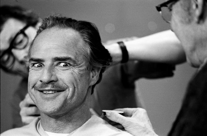 Марлон Брандо на фото Стива Шапиро