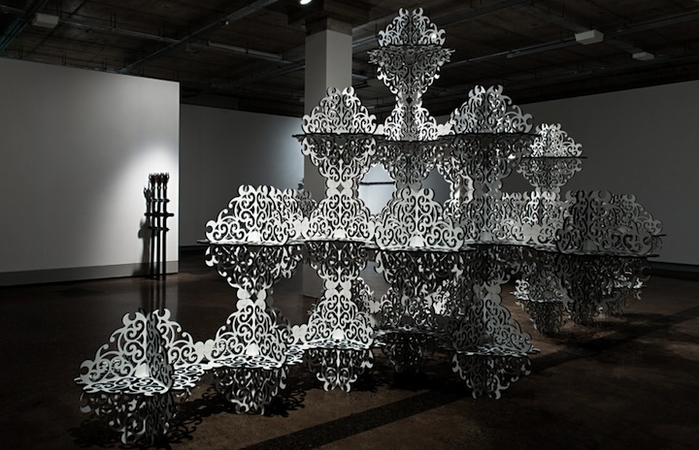 Инсталляция Simeon Nelson