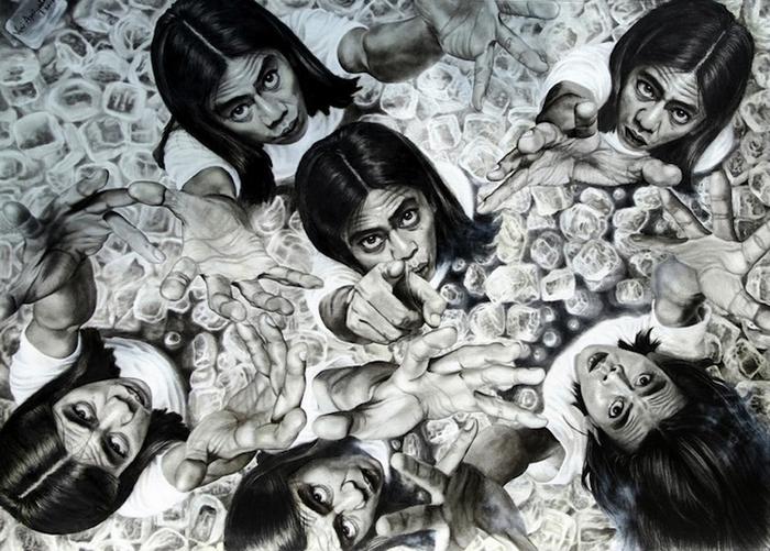 Одна из работ Veri Apriyatno