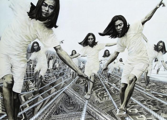 Многомерный индонезийский художник