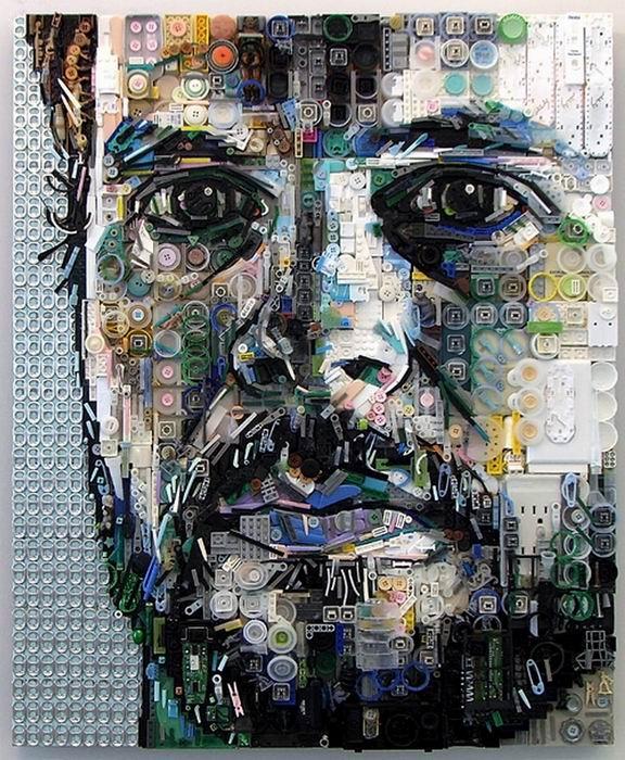 Один из портретов Zac Freeman