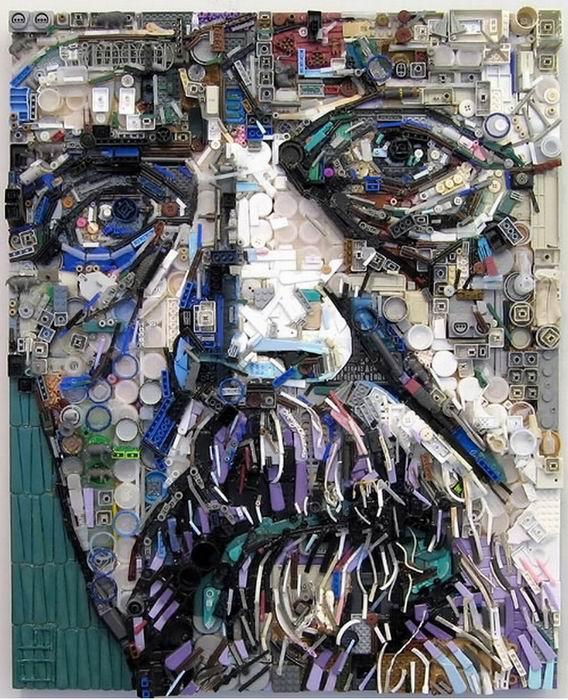 Мусорное искусство Зака Фримана