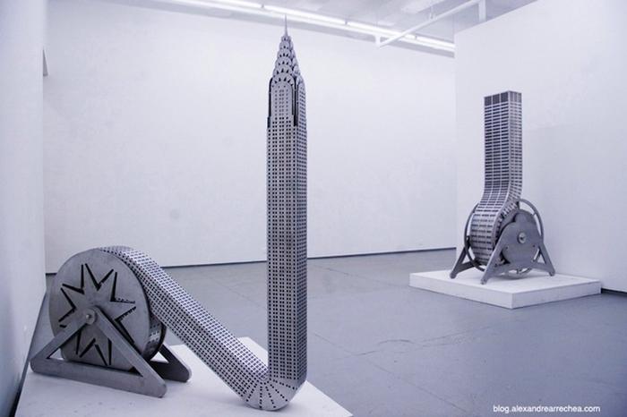 Выставка работ Alexandre Arrechea