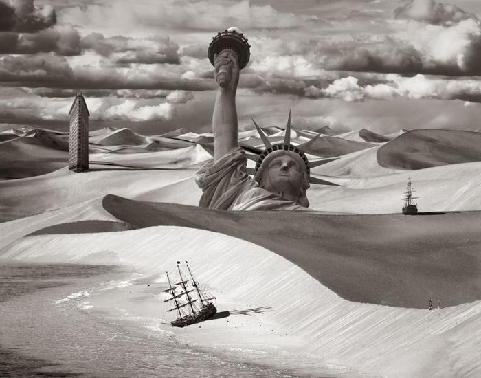 Статуя Свободы на фотографии Томаса Барби
