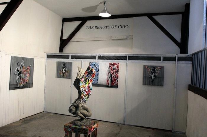 Выставка The Beauty of Grey в MSA Gallery, Париж