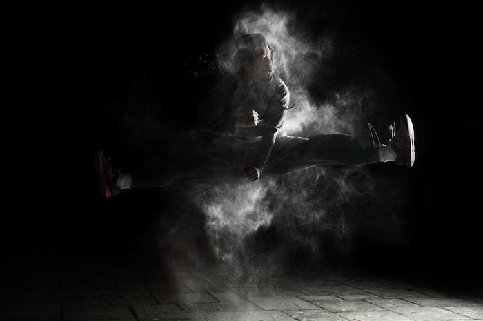 Паркур: фото Бена Франке