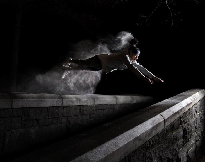 Фото из цикла Parkour Motion