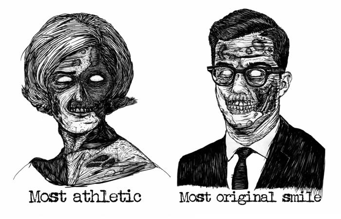 Два зомби-портрета от Michael DeNicola