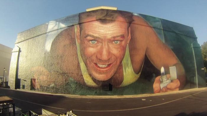 Фреска в Лос-Анджелесе