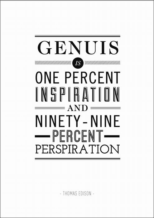 Рецепт по изготовлению гения от Томаса Эдисона