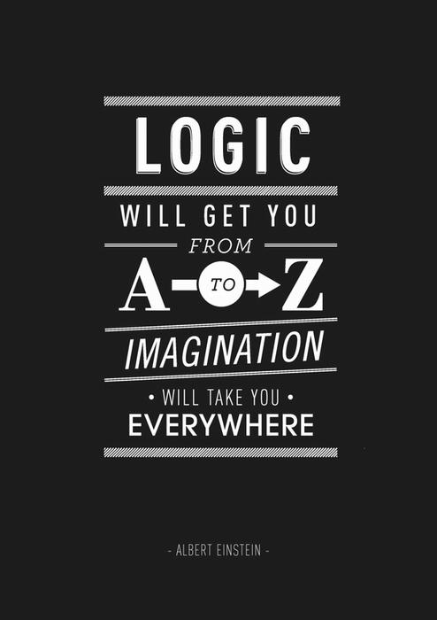 Альберт Эйнштейн о вреде логики
