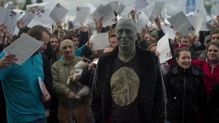 Vladimir Franz на митинге