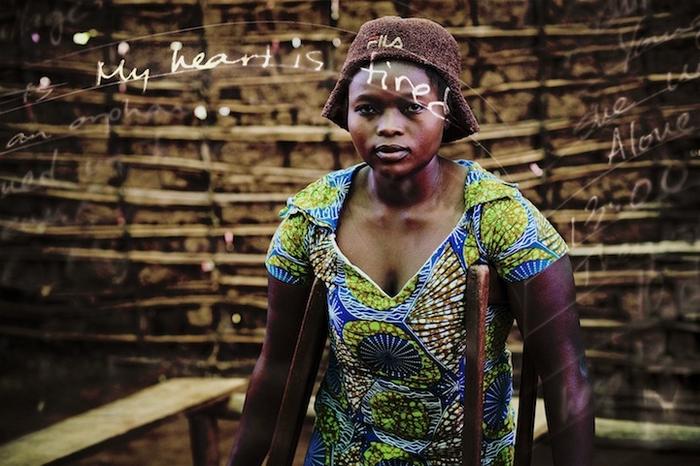 Одна из обитательниц Республики Конго