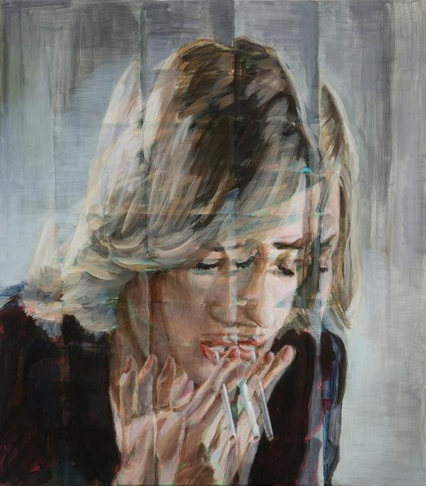 Один из портретов работы Динеша Гицци
