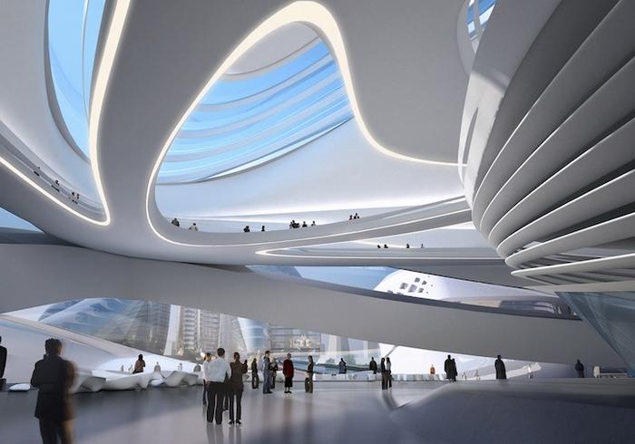 футуристична архітектура фото