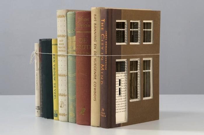 Книжный домик от Frank Halmans