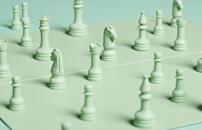 Монохромные шахматы от Henry Hargreaves
