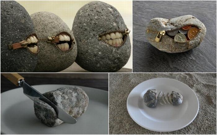 Каменные изваяния Hirotoshi Itoh