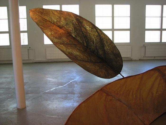 Экологическая скульптура финской художницы