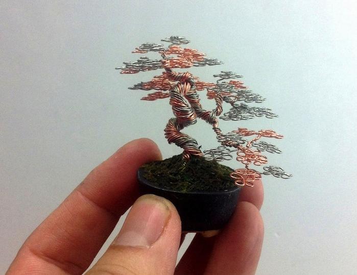 Дерево бонсай в версии Ken To
